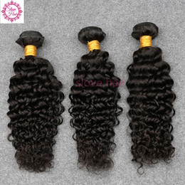 Wholesale Indian Sewing Machines - 100% Unprocessed Virgin Brazillian Hair Deep Curly Human Hair Weave Bundles 3Pcs Best Quality Sew Hair Extensions Weft Remy