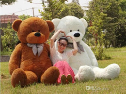 "Wholesale Giant Teddy 78 Pink - Wholesale cheap 200cm 78"" Giant Huge Big Stuffed Animal Teddy Bear Toys White, Brown ,Light Brown ,Pink,purple"
