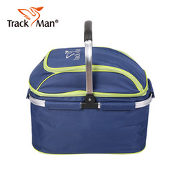 Wholesale Red Picnic Basket - Wholesale- Picnic Bag Multifunctional Outdoor Picnic Basket