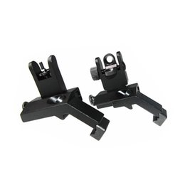 Wholesale Sight 45 Degree - New arrival tactical RTS AR15 M6 Front and Rear 45 Degree Rapid Transition Iron Rear Sight Scope Mount Black ht404
