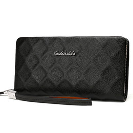 Wholesale Cell Phone Wallets Men - Monederos Carteras Masculina Hombre Men Wallets Leather Handy Bags Purse Men Standard Wallet Men Clutch carteira masculina
