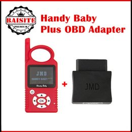 Wholesale Obd Programmers - Latest version v8.2.1 original CBAY Handy Baby Car Key Copy For 4D 46 48 Chips JMD Handy Baby Auto Key Programmer Plus OBD Adapter