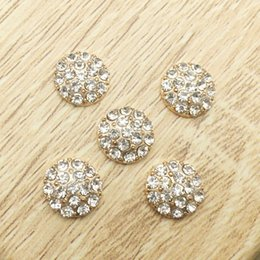 Wholesale Wholesale Jewelry Embellishments - 50pcs Wholesale Rhinestone For Clothing Applique Hair Accessories Buckle Charms Craft Flatback Drilling Jewelry Beads strass Embellishment