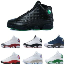 Wholesale Cheap Band Shoes - [With Box] Free shipping 2016 Wholesale Cheap Hot New Air Retro 13 13s Mens Basketball Shoes Sneakers XIII Original Quality shoes US 8-13