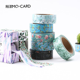 Wholesale Scrapbooking Washi Tape - Wholesale- 2016 Kawaii Fresh Washi Tape Scrapbooking Papeleria Fita Adesiva Decorative Scotch Tapes Washitape Floral Seal Tape Cute Statio