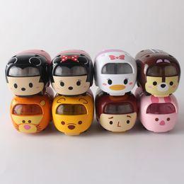 Wholesale Baby Tigger - Hight Quality Tsum Tsum Car Minnie Mickey Donald Tigger Doll 5cm Cute Mini Auto Brinquedos Toy Model Kids Baby Gifts