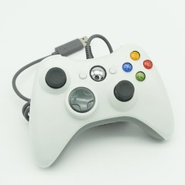 Wholesale New Games Xbox - New USB Wired Game Controller For Windows 7 PC 360 Joystick Gamepad Not for Xbox 360
