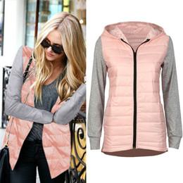 Wholesale Wholesale Women Warm Winter Parka - Wholesale- Jinggton oval Women Hooded Winter Warm Down Parka Jacket Coat