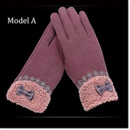 Wholesale Apple Iphone Different Colors - colorful Multi purpose women Glove Capacitive Touch Screen Warm Winter Gloves with 5 models different colors for choose (2pieces =1 pair)
