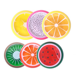 Wholesale fruit crystals - Kids Playdough Fun Clay Toy Slime Crystal Fruit Magnetic Colored Mud Pie Intelligent Silly Putty Plasticine Rubber Mud Playdough