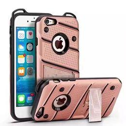 Iphone couverture en silicone points en Ligne-Stand Wave Dot Case hybride pour Iphone X 8 7 Plus 7PLUS 6 6S SE 5 5S Samsung Galaxy Note8 J5