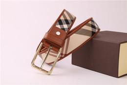 Wholesale Metal Pin Buckle Belt - Business casual leather case grain belt Faux Leather Waistband Vintage Classic Pin Buckle Design Belts For Men ceinture homme luxe marque