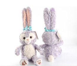 Wholesale Toys Bear Wholesale Products - 50cm Duffy Bear Friend StellaLou Rabbit Plush Doll Toy Shoulder Bag Cute Long Eared Ballet Rabbits Plush Soft Stuffed Doll For Girls Gifts