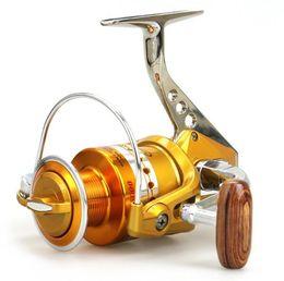 Wholesale Drag Reels - Brand Spinning Reel 5.1:1 12+1 Ball Bearings Fishing Reel Wheels Gear Drag Sea Boat Spinning Fishing Reel