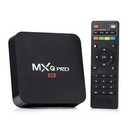 Wholesale 3gp Tv - RK3229 MXQ Pro 4K Ultimate HD 16.1 Android 5.1 fully loaded smart tv box 1gb 8gb Quad Core 2.0GHz Hardware Decoding WIFI Miracast