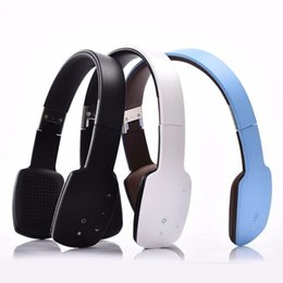 Wholesale Computer Points - Wireless Bluetooth Headset V4.1 Convenient Folding Handsfree Earphone Multi Point Connection For Mobile Phones Computer