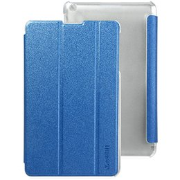 """Wholesale Shockproof Case For 4g - Wholesale-Teclast P80 3G   4G Protective Case 8"""" PU Leather Flip Case Protector Case Triple Folding Smart Cover with back Stand Cover"""