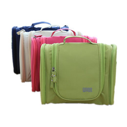 Wholesale Travel Toiletry Bags For Men - Wholesale- Hot High quality Travel Hanging Cosmetic Bag travel organizer bag Large capacity Multifunction travel toiletry bag For Men Women