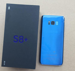 Wholesale Wholesale Indonesia - New Arrival S8+ s8 plus 5.5inch Unlocked cell phone Quad Core Android 6.0 1G Ram 4G Rom Show fake 64GB ROM Fake 4G LTE Smartphone