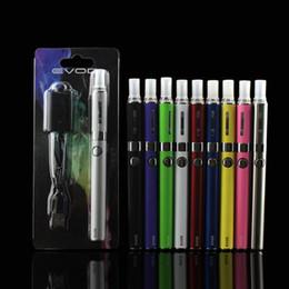 Wholesale E Cigs Blister - EVOD MT3 Blister Kit EGo Starter Kits E Cigs Cigarettes 650mah 900mah 1100mah EVOD Battery MT3 Atomizer