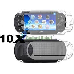 Wholesale Vita Protector - 10 Pcs Full Body Clear Flim Screen Guard Protector For SONY Playstation PS Vita
