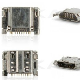 Wholesale Galaxy S3 Port - NEW Original Micro USB Charging Port Connector for Samsung Galaxy S3 L710 T999 I747 i535 R530