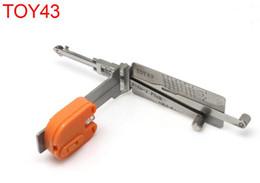 Wholesale Read Locks - Smart [SMA] TOY43 (8 pcs) 2 in 1 reading Kai opener auto pick tools for locksmith