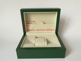 Wholesale Paper Bag Tags - Factory Supplier Green Brand Original Box Papers Gift Watches Boxes Leather bag Card 185mm*134mm*84mm 0.7KG For 116610 116660 116710 Watch