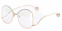 Wholesale Transparent Lenses - JINNNN brand designer Sunglasses Newest Popular Eyeglasses Transparent Lens Alloy glasses Optical Eye glasses Frame for Women Men original b