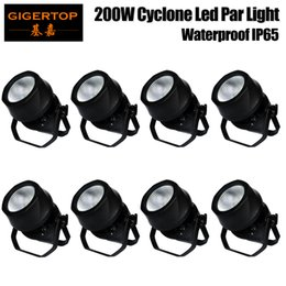 Wholesale Night Spot - 8X 200W Stage lights PAR White Color Wash Spot LED Waterproof Outdoor Night Club Party DJ Theater Church of Bar Stage Lighting TIPTOP