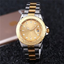 Wholesale Mens Grey Leather Belt - relogio masculino 38mm gold watches mens New brand fashion leather watch straps luxury stainless steel bracelet belt clocks wristwatch aaa