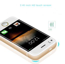 Wholesale Dual Sim Android Mini - 2017 new arrival mini phone baby P6S smart android cell phone dual core 2.4 inch HD touch screen cell phone unlocked