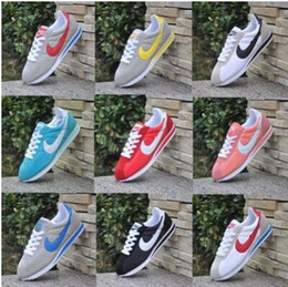 Wholesale Shell Toes - Free shipping 2017 new brands Casual Shoes men and women cortez shoes leisure Shells shoes Leather fashion outdoor Sneakers size 36-44