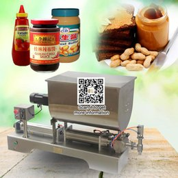 Wholesale Liquid Filling Machines - Fill machine 900-5000ml manufacturers ketchup filling machine bottle filer with big mixer free shipping liquid filling machine for sauce