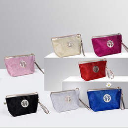 Wholesale Waterproof Toiletry Kits - Portable Waterproof Cosmetic Case Multifunction Clutch Bags Travel Kit Organizer Toiletry Makeup Bag Available 7 color KKA3086
