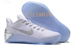 Wholesale Cheap Elites - 2017 Kobe 12 XII Ad Casual Shoes Black Gold Men Casual Basketball Shoes Cheap Purple Red White Gray Blue Kobe 12 Elite Low Sport Sneakers