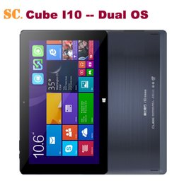 "Wholesale Hd Boots - Wholesale- 10.6"" HD Cube I10 Dual Boot Tablet PC Windows10 Win10+Android 4.4 Dual OS Intel Z3735F Quad Core 2GB RAM 32GB ROM Mini HDMI OTG"