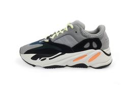 Wholesale Men Running Shoes Wave - presell Kanye West Wave Runner 700 Running Sneakers In Calabasas 1:1 Authentic Boost 700 Men Shoes Original Quality Come With Original Box