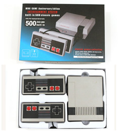 Wholesale Video Game Wholesales - New Arrival Mini TV Video Handheld Game Console Video Games Consoles Built-in 500 620 Classic Games For Nes Classic Games PAL&NTSC