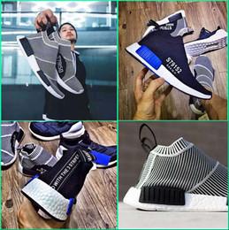 Wholesale Mens Sport Toe Socks - 2017 NMD_CS1 PK Runner City Sock Nmd Cs1 CS 1 Mens & Women Classic Running Shoes City Sock Cs1 Primeknit Grey black Sports Sneaker