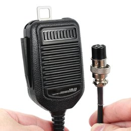 Wholesale Icom Speaker Microphone - Wholesale- Car Radio HM-36 Microphone 8 Pin Speaker Hand Mic For ICOM HM36 IC-718 IC-775 IC-7200 IC-7600 IC-25 IC-28 IC-38 Mobile Radio