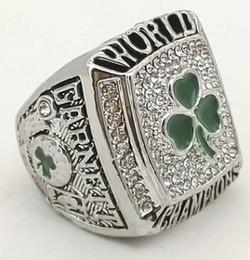 tamaño del anillo topacio amarillo Rebajas Men fashion sports jewelry 2008 Celtics championship ring fans souvenir gift