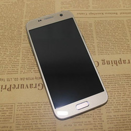 "Wholesale Gsm Quad Single Sim - 2G GSM Goophone S7 Quad Core 512M RAM 4GB ROM 5.1"" QHD 5MP Camera Plastic Body Unlocked Cheap Cell Phones"
