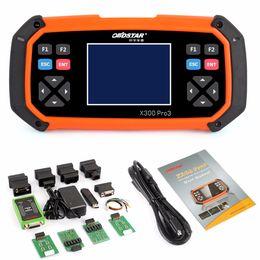 Hot OBDSTAR X300 PRO3 Key Master OBDII X300 programador clave Herramienta de corrección del odómetro EEPROM / PIC actualización en línea de DHL gratis desde fabricantes