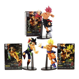 Wholesale Dragon Ball Z Son Goku - 3Style Dragon ball Z SCultures BIG Resurrection F Super Saiyan Son Goku PVC Figure Toy
