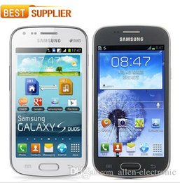 Wholesale Galaxy S 3g - Samsung Galaxy S Duos S7562 Dual Sim phone unlocked 3G GSM mobile phone 4.0 WIFI GPS 5MP 4GB refurbished phone