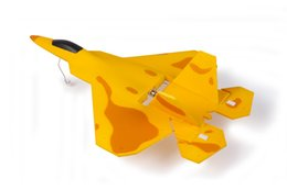 Wholesale Brushless Motor Freeship - Macfree Micro F22 Jet Fighter w Auto Takeoff and Stability Control RTF (Brushless Motor Mode 1)