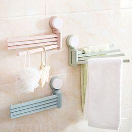 Wholesale Towel Rack Pole - Multi-function rotatable 4 poles towel rack, bathroom towel rack