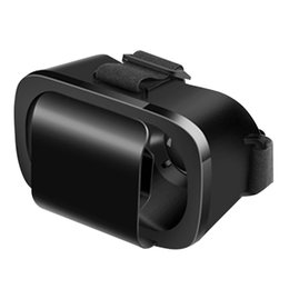 "Wholesale Googles Glasses - Wholesale- Latest VR Box 3D Glasses Virtual Reality Goggles Headset Googles Cardboard VR Glasses For 4.7-6.0"" Smartphone Live Video"