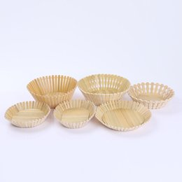 Wholesale Place Clothes - Bamboo Weaving Basket Pure Manual Operation Countryside Wind Vegetables Fruits Weave Basket Hotel Restaurant Place Basket